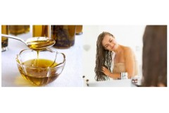 What are the benefits of argan oil massage for hair ?